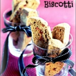 Whole Wheat Pumpkin Goji Biscotti