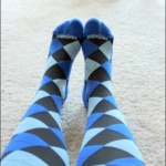 Product Review: Zensah Argyle Compression Socks