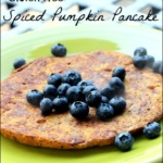 Gluten Free Spiced Pumpkin Pancake Recipe