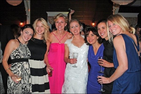 Wedding with UNC girls