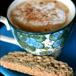 Vegan Vanilla Almond Biscotti