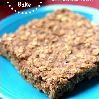 Gluten Free Oatmeal Breakfast Bake (dairy free)
