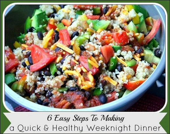 How to make a quick healthy dinner for Quick and easy healthy dinner recipes