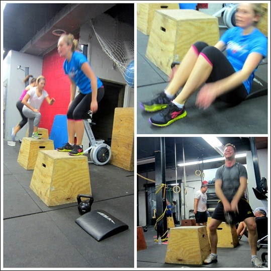 Results Crossfit Workout: CrossFit Cardio & Abs Burnout Workout + Reebok Giveaway