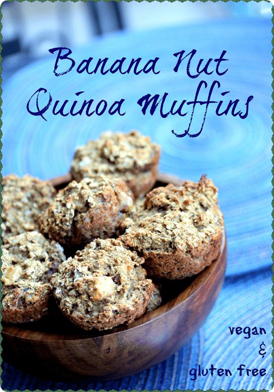 Quinoa muffins recipe gluten free