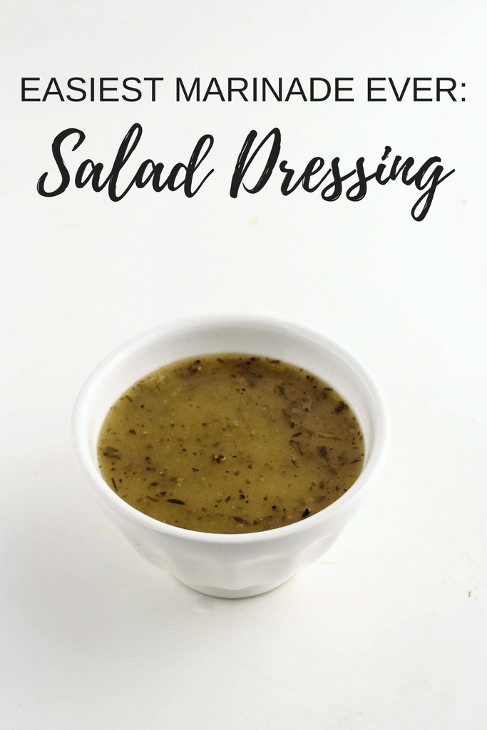 The easiest marinade ever? Salad dressing! Check out more easy marinade recipes and ideas at fannetasticfod.com!
