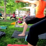 Free Outdoor Dupont Circle Yoga & Sushi + Italy Bound!