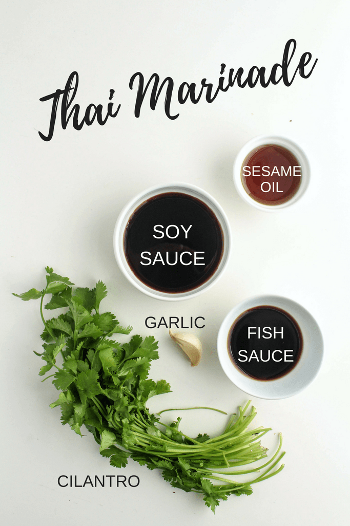 This simple Thai Marinade is perfect on chicken and tofu! Check out more easy marinade recipes and ideas at fannetasticfod.com!