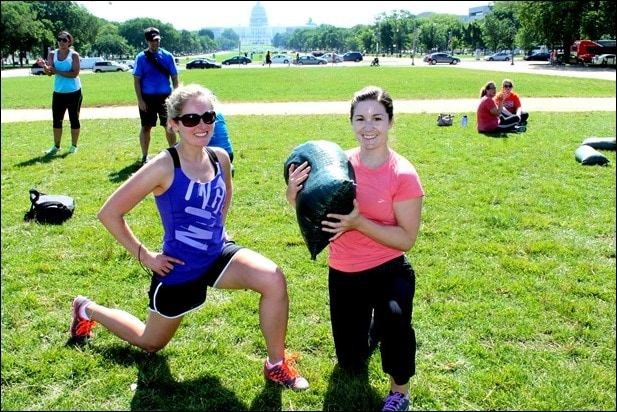crossfit on the mall