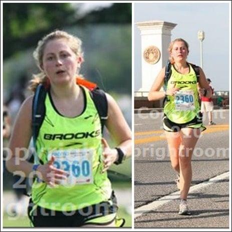 funny running photo