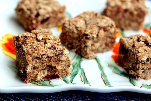 Spiced Cherry Pecan Granola Bars {gluten free} | Dole ...