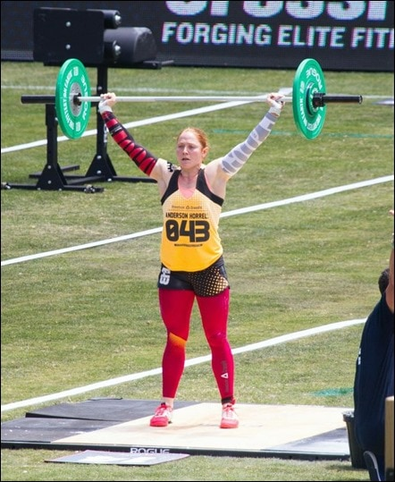 crossfit games 2013 overhead weight