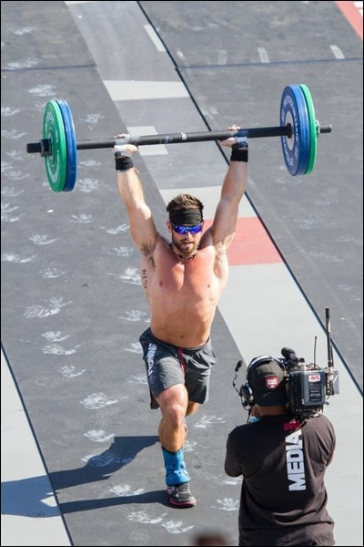 crossfit games 2013 rich froning finish