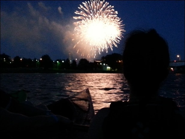 fireworks from the potomac