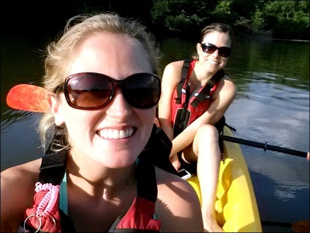 kayaking potomac river