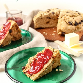 Whole Wheat Irish Soda Bread vegan recipe
