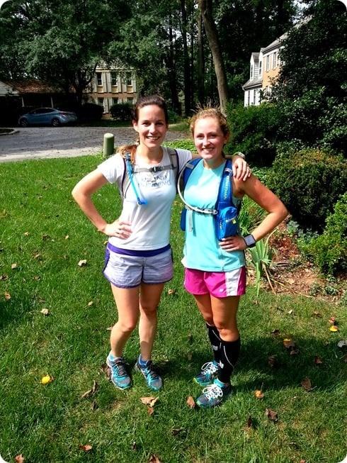 marathon training 16 mile run