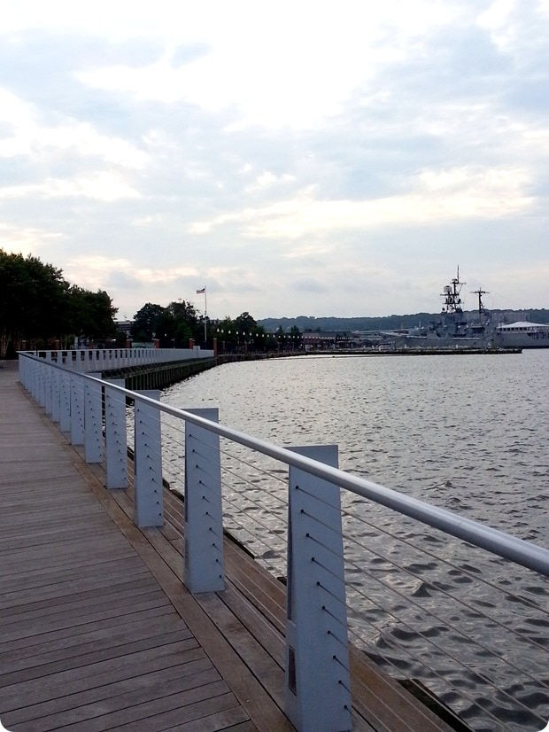 southeast waterfront in dc