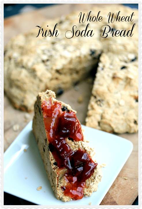 first fell in love with Irish soda bread when I was, as you might ...