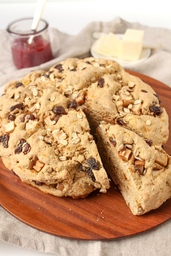 whole wheat vegan irish soda bread easy recipe