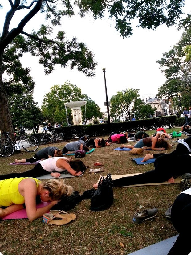 dupont circle free yoga