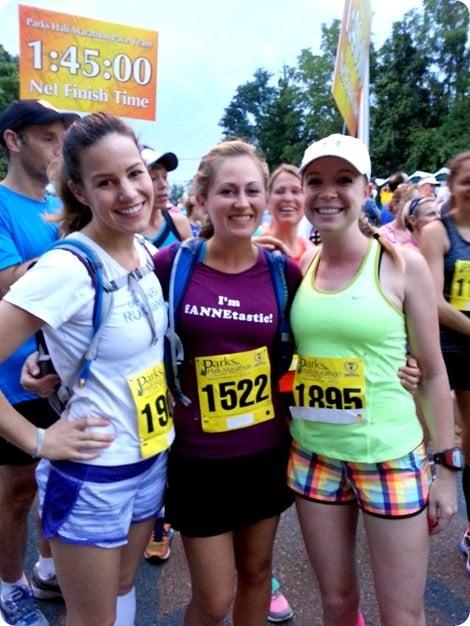 parks half marathon start