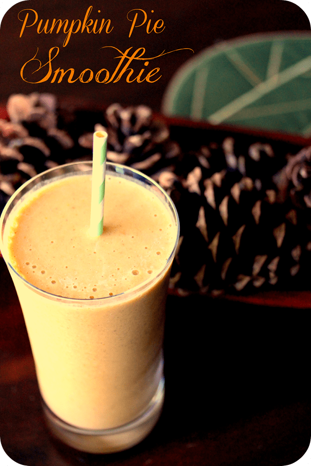Pumpkin Pie Smoothie - fANNEtastic food | Registered Dietitian Blog ...