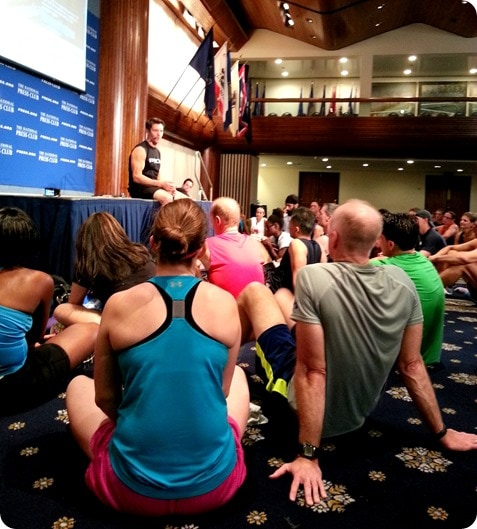 tony horton workout in dc