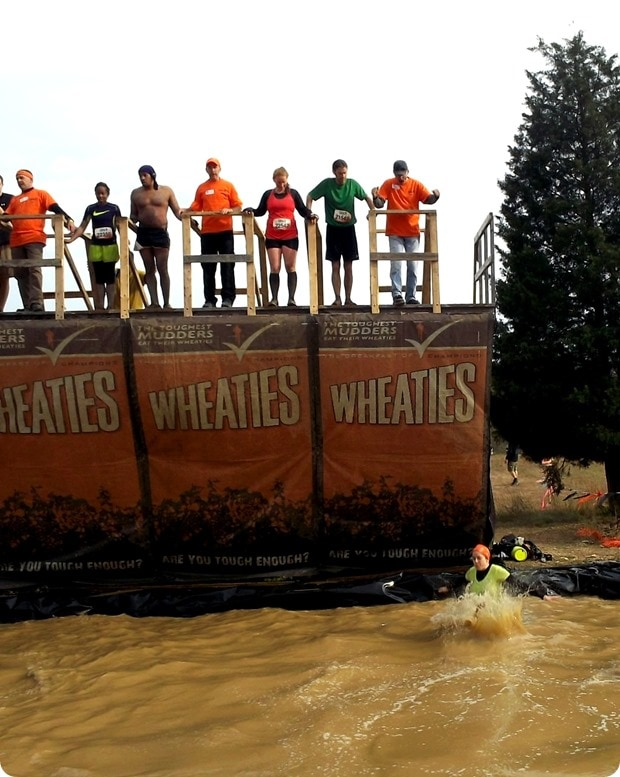 tough mudder walk the plank