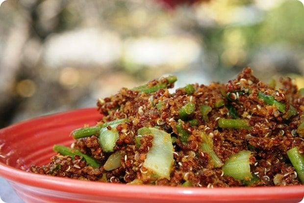 pumpkin quinoa recipe