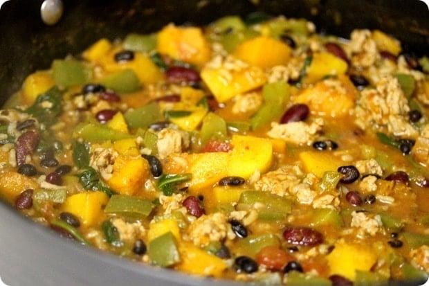 Butternut Squash & Turkey Chili - fANNEtastic food ...