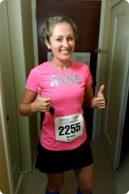 before richmond marathon