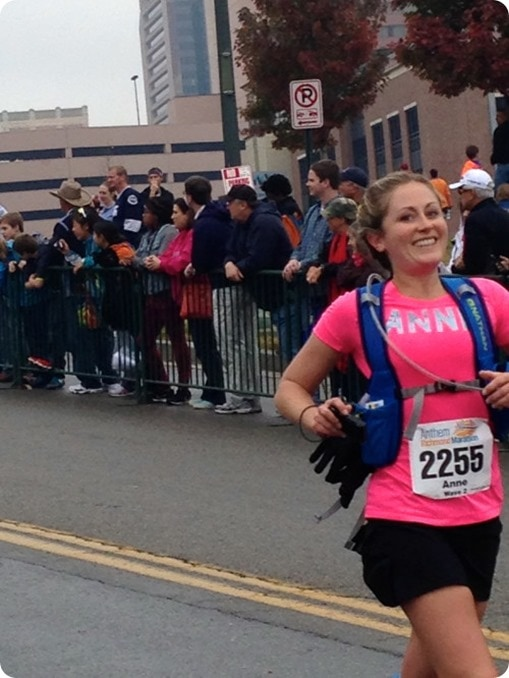 finishing the richmond marathon