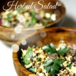 Lentil & Brown Rice Herbed Salad