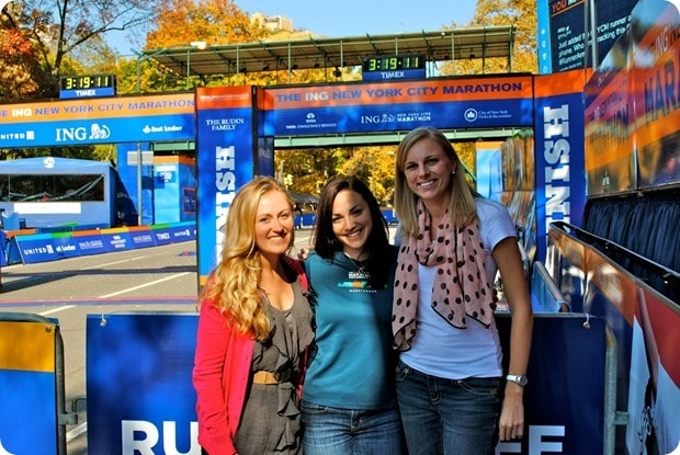 nyc marathon finish line