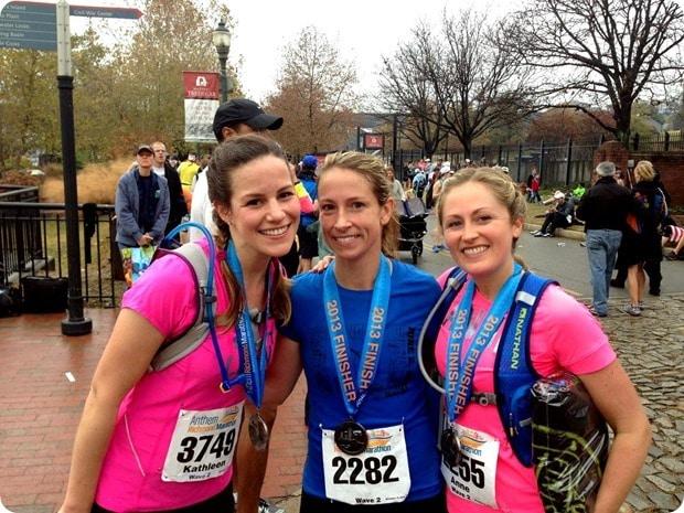 richmond marathon finish