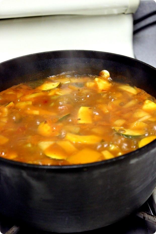 Kitchen Sink Lentil Soup