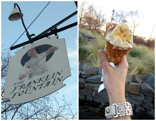 the franklin fountain ice cream