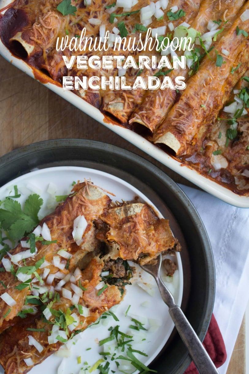 immune system boosting vegetarian enchiladas