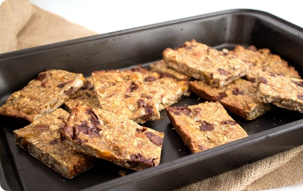 Nutty Protein Granola Bars recipe
