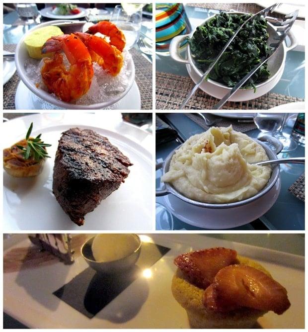 boa steakhouse dinner