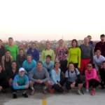 OutRun-ing with lululemon logan circle + Roam Fitness