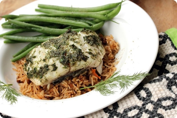lemon and herb fish recipe