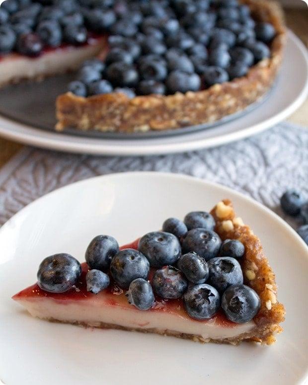 vegan gluten-free blueberry pie recipe