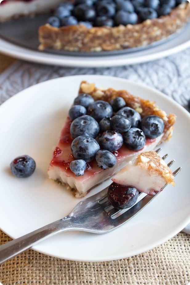 no bake blueberry pie recipe