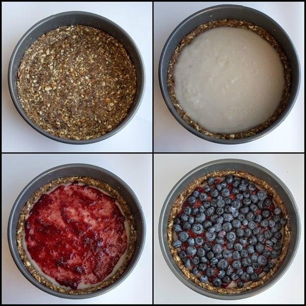 how to make a vegan no bake pie