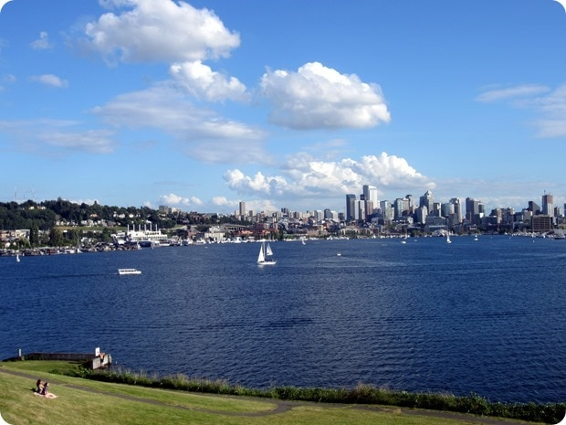 gas works park view