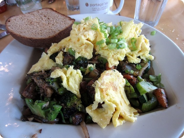 portage bay cafe farmers hash