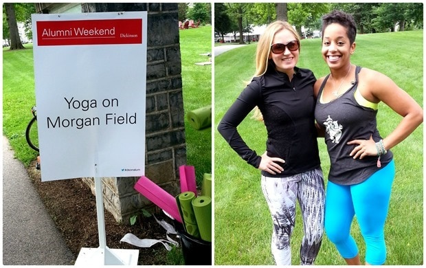 dickinson alumni weekend yoga