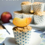 Dairy & Gluten Free Peach Muffin Recipe